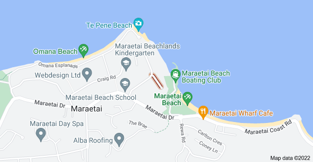 Location of Sea View Terrace
