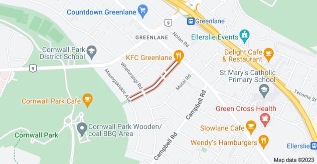 Location of Atarangi Road