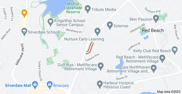 Location of Greenview Lane