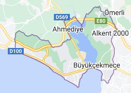 Büyükçekmece Harita
