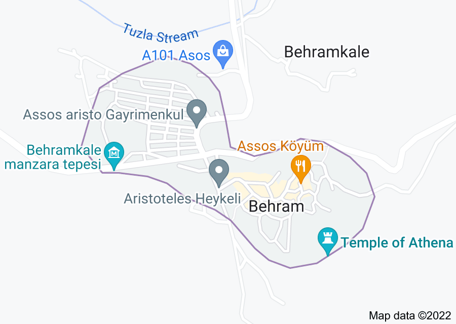 Location of Assos