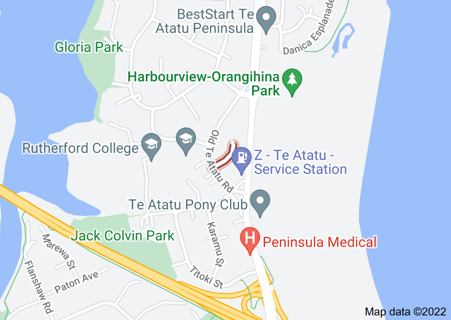 Location of Parkvale Grove