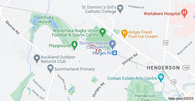 Location of Lockington Avenue