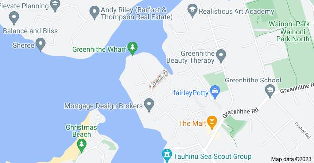 Location of Oratau Place