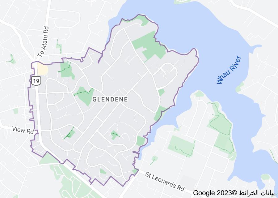 Location of Glendene