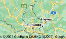 Luxembourg: carte
