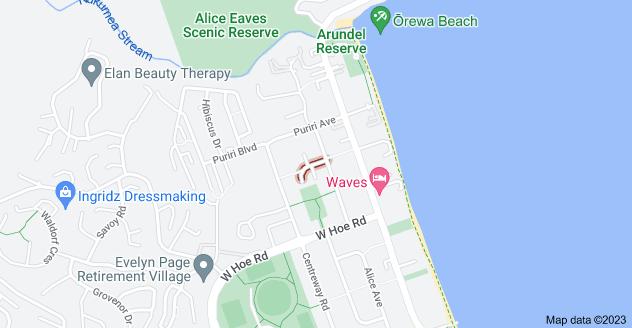 Location of Manuka Street