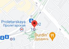 Location of Proletarskaya