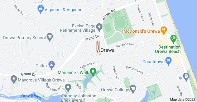 Location of Ruby Place