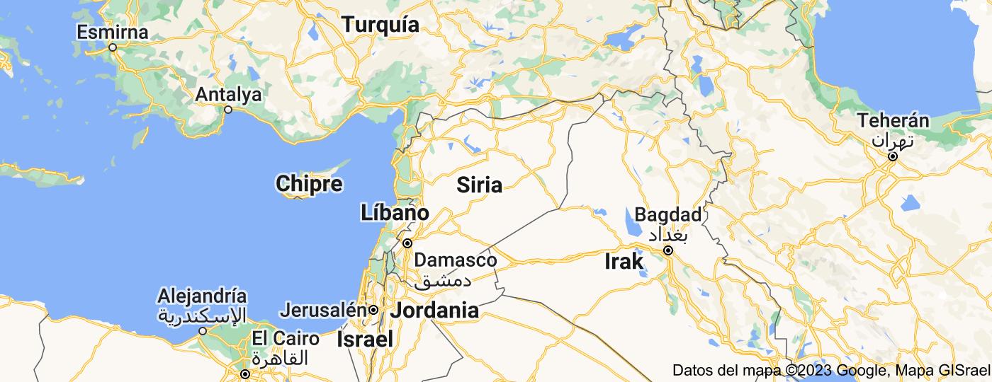 Location of Siria