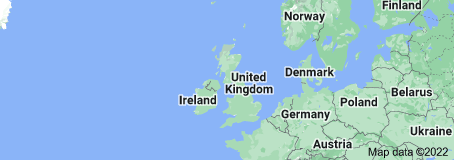 Location of United Kingdom