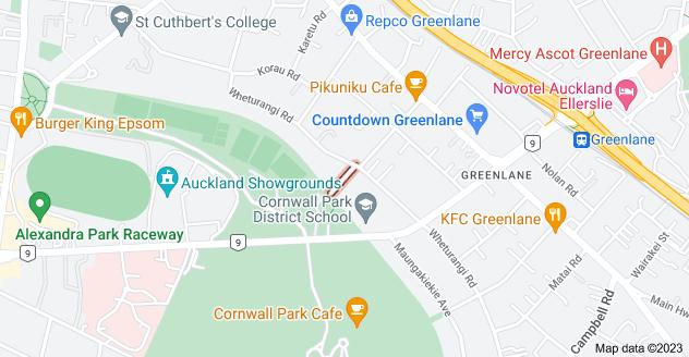 Location of Renown Avenue