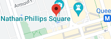 Location of 3D Toronto sign