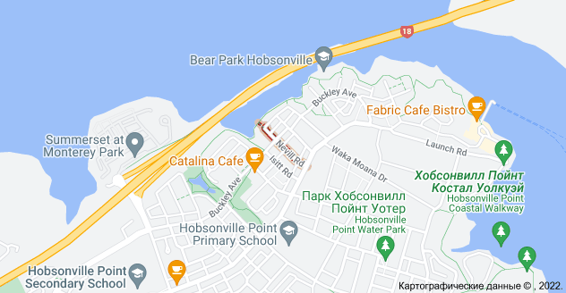 Location of Невилл-роуд