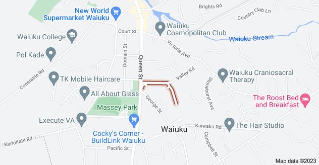 Location of Mellsop Avenue