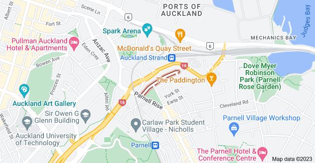 Location of Augustus Terrace