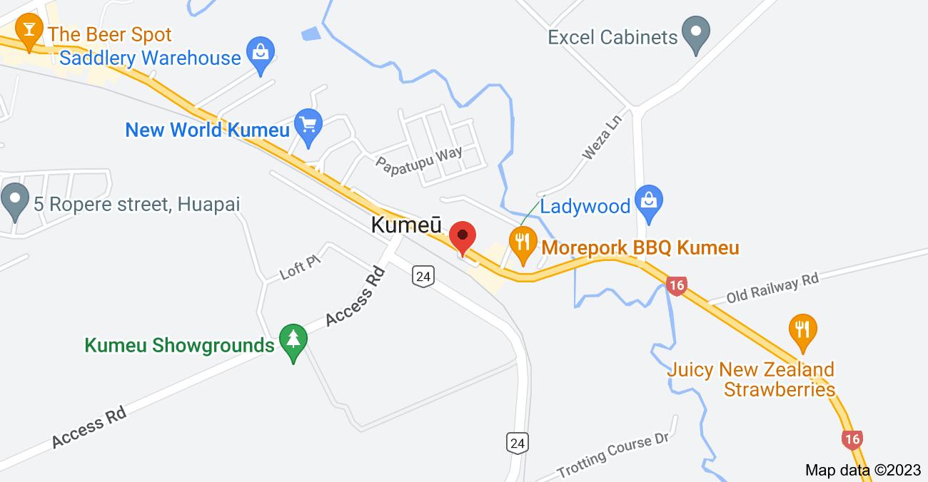 Map of 49 Main Road, Kumeū 0810
