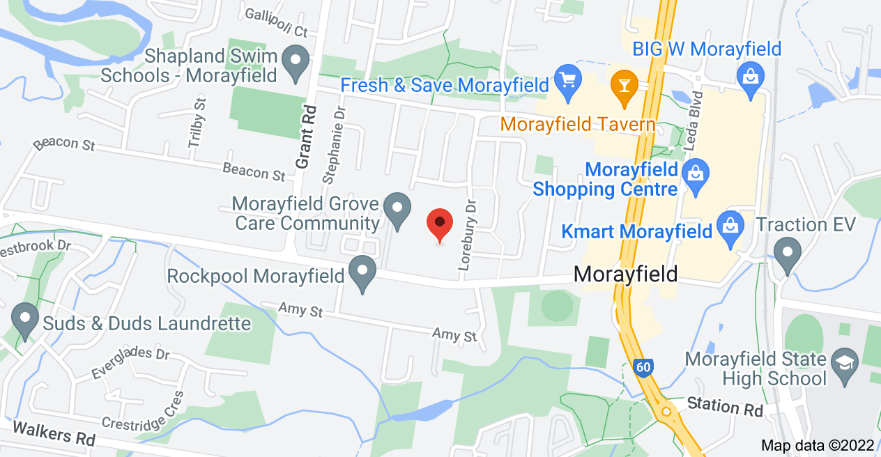 Map of 55 Caboolture River Rd, Morayfield QLD 4506