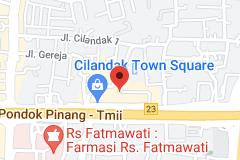 Map of Cilandak Town Square