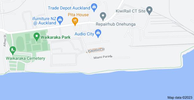 Location of Pukemiro Street