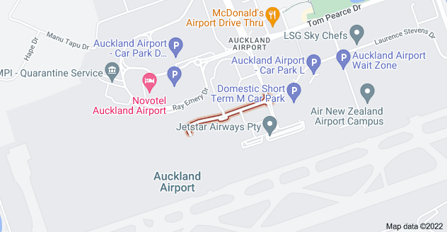 Location of Cyril Kay Road