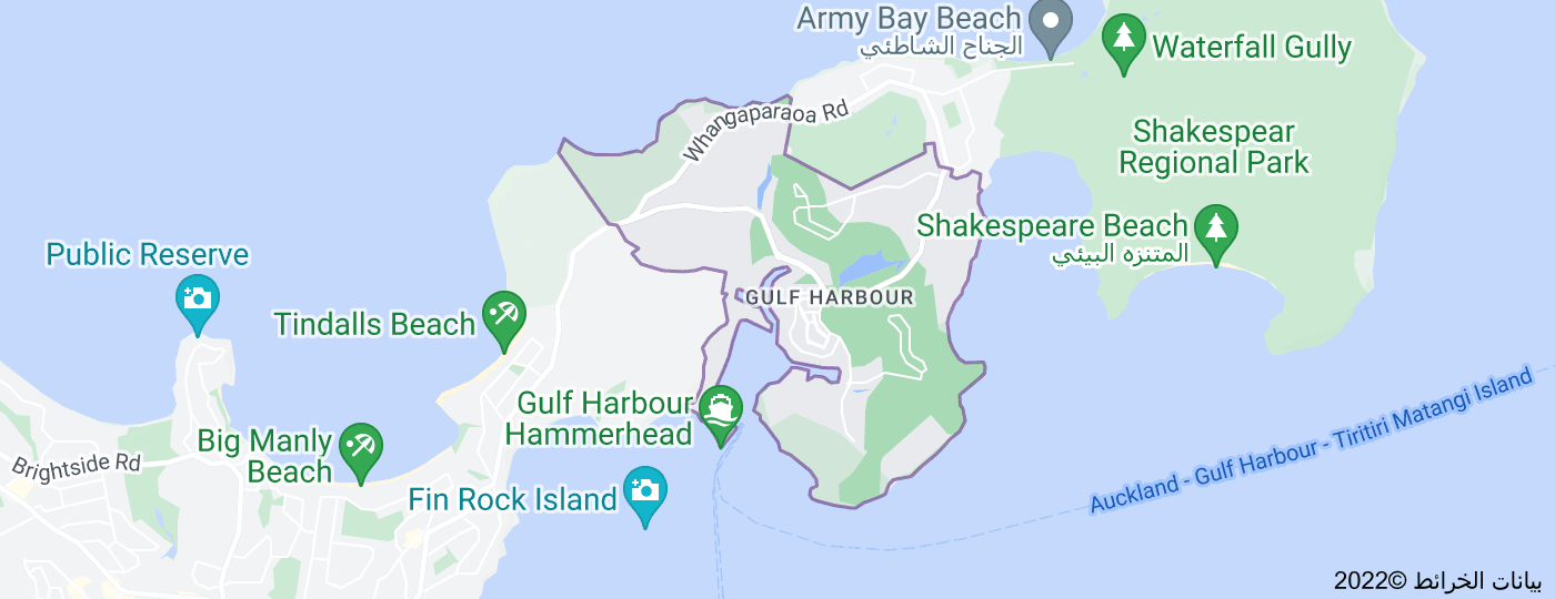 Location of غولف هاربور