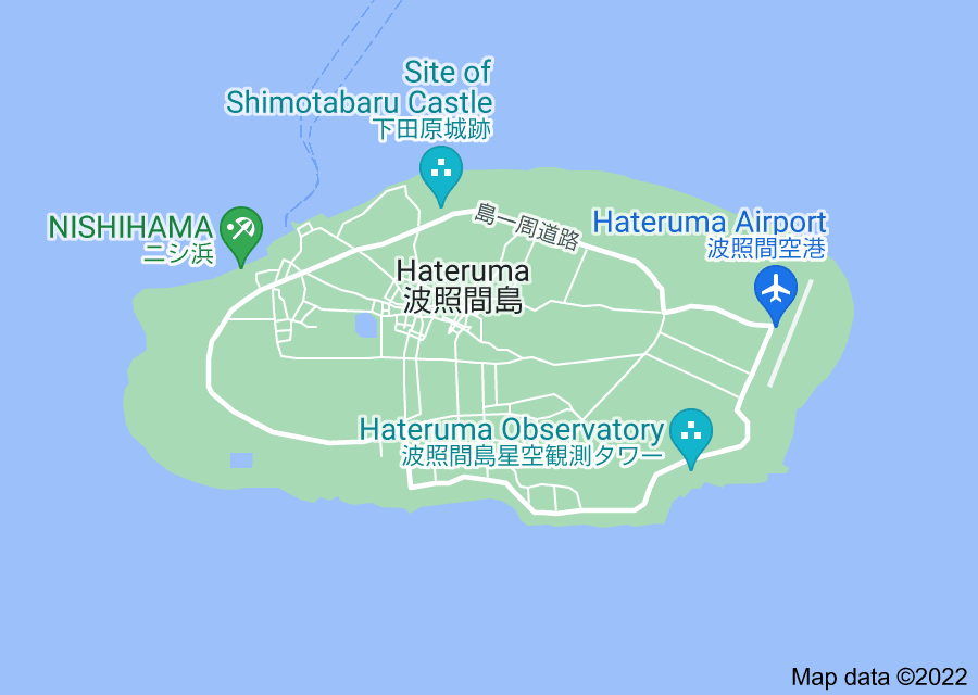 Location of Hateruma
