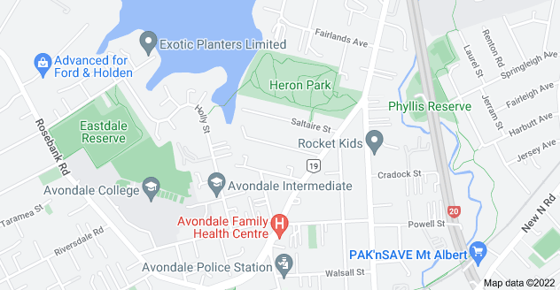 Location of Glendon Avenue