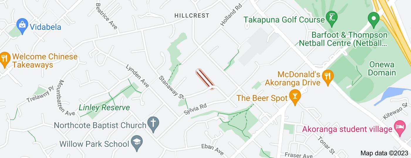 Location of Totara Grove