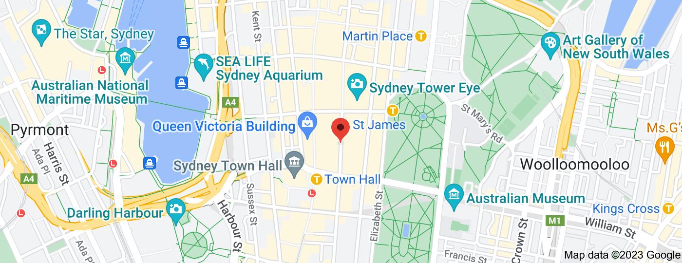Location of Gab Bar