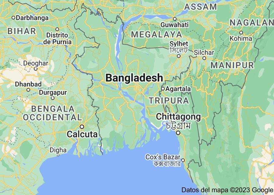 Location of Bangladés