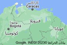 Location of فنزويلا