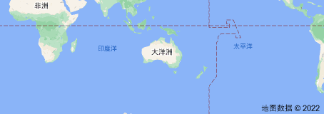 Location of 澳大利亚