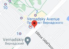 Location of Prospect Vernadskogo