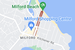 Location of Milford Road