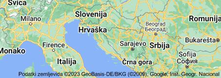 Location of Hrvaška