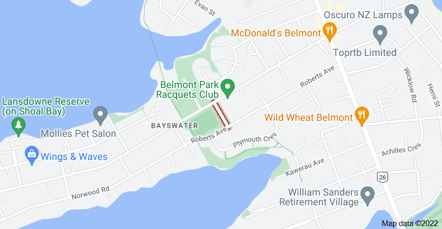 Location of Rosyth Avenue