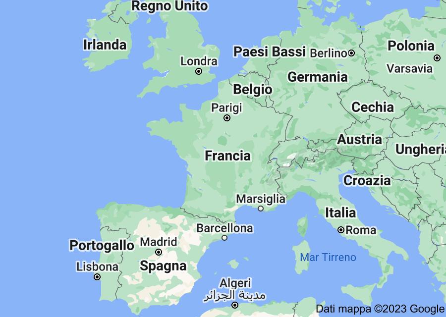 Location of Francia