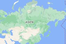 Location of Russland