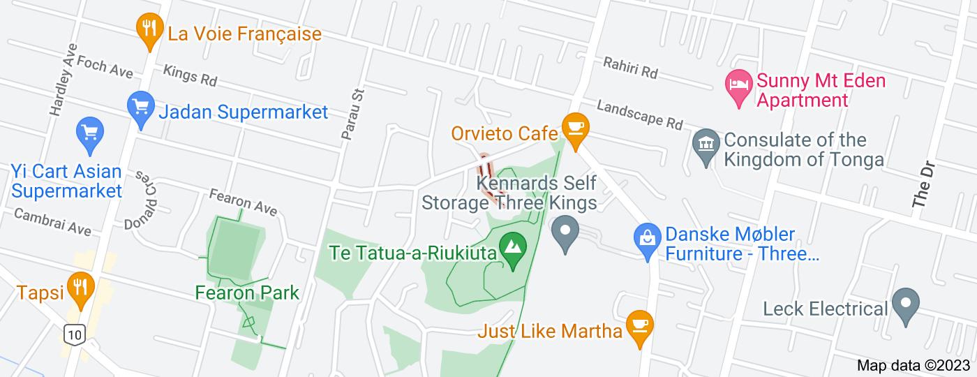 Location of Connolly Avenue