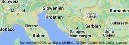 Location of Kroatien
