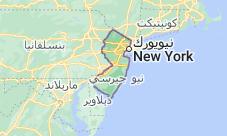Location of نيو جيرسي