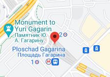 Location of Leninsky Prospekt