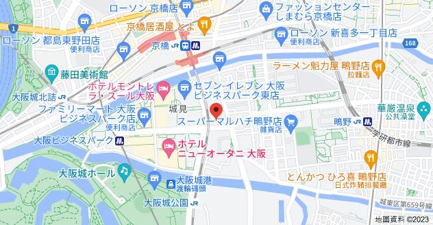 日本〒536-0014 Ōsaka-fu, Ōsaka-shi, Jōtō-ku, Shiginonishi, 2 Chome−20−1 ネオコーポ大阪城公園1号館地圖
