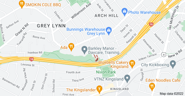Location of Commercial Road