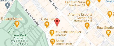 Mapa de la ubicación de la empresa