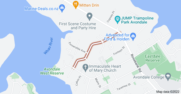 Location of Mead Street
