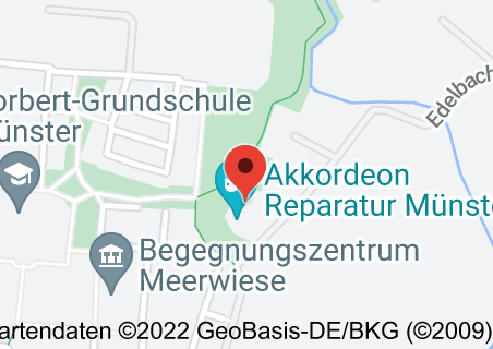 Karte von MUSIKSCHULE MÜNSTER MOTET- PRIVATER Musikunterricht