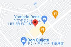 Location of イオンタウン木更津請西