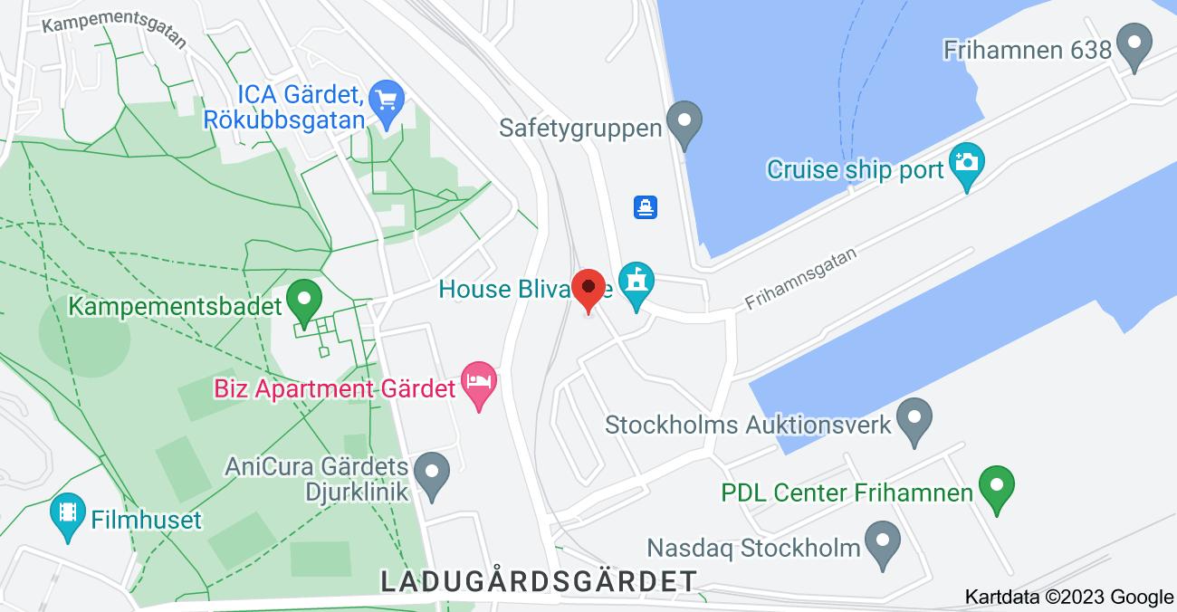 Karta över Liljas Gata 4, 115 56 Stockholm